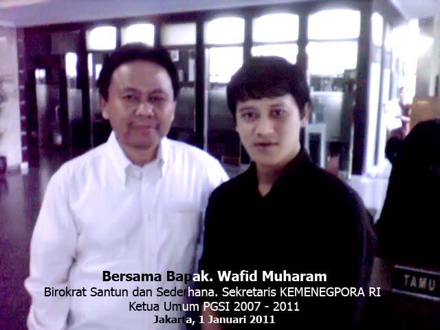 Bersama Bpk. Wafid Muharram